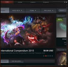 my dota 2 client store library quiz page got zoomed in dota2