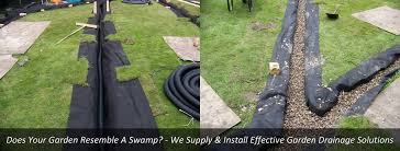 garden drainage. Garden Drainage Glasgow