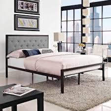 Mia Bedroom Furniture Modway Mia Full Fabric Bed Frame Multiple Colors Walmartcom