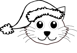 clip black and white stock cat face drawing images at getdrawings