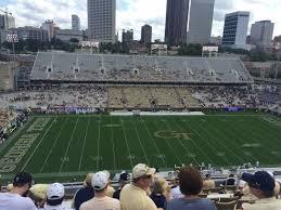 Bobby Dodd Stadium Section 206 Rateyourseats Com