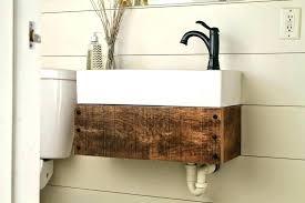 farmhouse bathroom vanities farmhouse bathroom vanity with sink