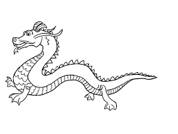 Chinese Dragon Coloring Page Free Printable Chinese Dragon ...