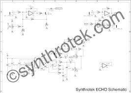 echo schematic synthrotek important links