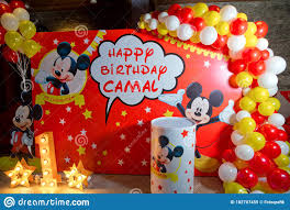 530 Mickey Mouse Birthday Photos - Free & Royalty-Free Stock Photos from  Dreamstime