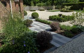 stylish front garden contemporary