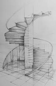 architecture design drawing techniques. Architectural Design - Spiral Staircase Architecture Drawing Techniques