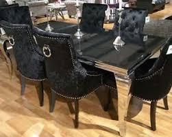 image is loading new lacene 160cm black gl dining table ava
