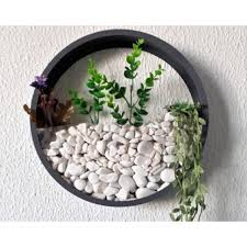 wall planter hanging wall round
