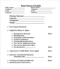 Process Checklist Template 9 Free Word Pdf Documents Download