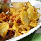 bbq potatoes and onions