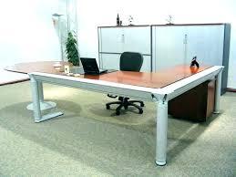 ebay office desks. Large Office Desk Big Beautiful Black Leather Executive Chair W Ebay Desks