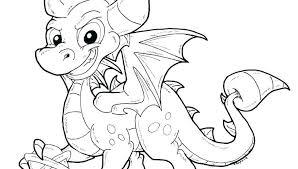 Skylanders Coloring Pages Spyro Adventure Fire Dark Acnee