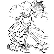Moses Coloring Pages Moses Coloring Pages Free Printables