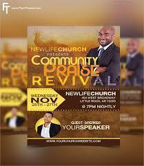 Free Church Flyer Templates Photoshop Church Revival Flyer 20 Revival Flyers Free Psd Ai Eps Format