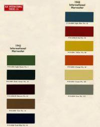 International Toplac Paint Colour Chart International