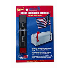 Mailbox Quick Stick Flag Bracket and Holder from Flags Unlimited