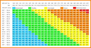 Bmi Chart Pdf Printable Bmi Chart Room Surf Com
