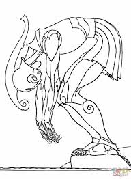 Small Picture Griffin Free Ancient Greek Coloring Pages Greek Mosaic Depicting