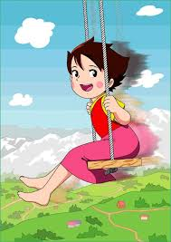 heidi arabic cartoon onvacations wallpaper image
