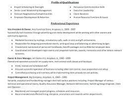 Customer Relationship Manager Cv Upcvup Project Manager Resume