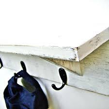 Black Coat Rack With Shelf Black Coat Rack With Shelf Furniture Rustic Wood Wall Mounted 46