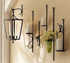 artis wall mount candle holders
