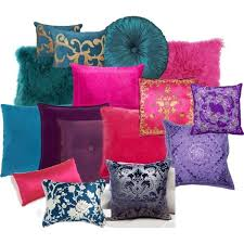 jewel tone pillows. Fine Pillows Jewel Tone Pillows  LOVE The Bottom Left Pillow White And Deep Blue Throughout Pinterest
