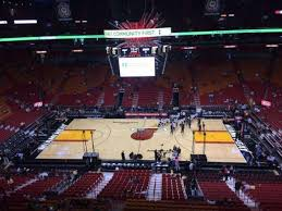 American Airlines Arena Section 324 Home Of Miami Heat