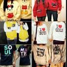 Cute couple shirts swag