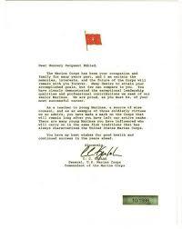 retirement letter marines u s marine corps retirement letter 1996 marines u s marine corps