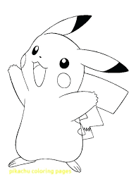 pikachu coloring page coloring pages with coloring pages mega pikachu coloring pages