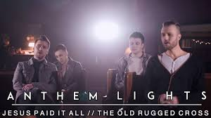 Easter Medley Anthem Lights Sheet Music Hymns Medley Cross Medley Jesus Paid It All The Old Rugged Cross Anthem Lights
