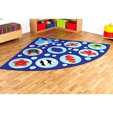 area rugs round 5 ft under the sea corner carpet furniture from early years resources medium