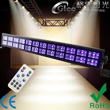 Black Light With Remote Hot Item 24 3w Uv Led Strobe Remote Black Light Bar