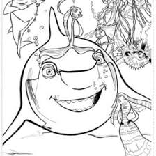 Small Picture Coloring Pages Shark Tale Kids Drawing And Coloring Pages Marisa