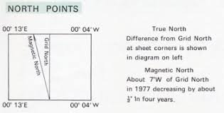 Magnetic Declination Chart Calculate Magnetic Declination Or Variation Values
