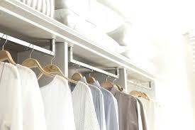 easy closet organizers easy track closet organizer reviews