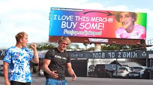 fanjoy logan paul. embarrassing billboard prank on my brother (he freaked). jake paul fanjoy logan h