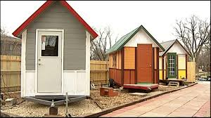 Small Picture Tiny House Village unveiled Saturday WKOW 27 Madison WI