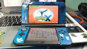 New 3DS Xl + Skin Pokemon X ( Máy chơi game cầm tay của Nintendo ) - YouTube