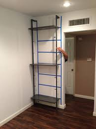 cb2 com storage furniture storage stairway grey wall mounted bookcase f9857 cb2 com storage furniture storage helix acacia bookcase