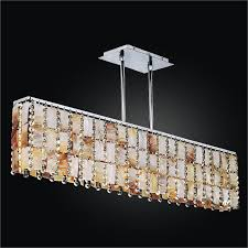 oyster shell chandelier rectangular chandelier tropical paradise 632ym5lsp 7c