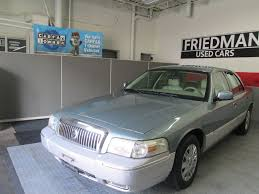 2006 mercury grand marquis gs at friedman used cars