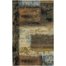 chandra nirvana blue beige brown green black 9 ft x 13
