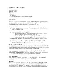 Sample Welcoming Letters Under Fontanacountryinn Com