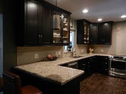Dark Espresso Kitchen Cabinets Kitchen Cabinets Backsplash Ideas Black Dark Espresso Kitchen