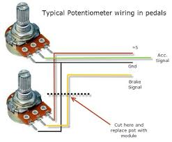 6 pin potentiometer wiring 6 image wiring diagram 3 wire potentiometer diagram 3 auto wiring diagram schematic on 6 pin potentiometer wiring