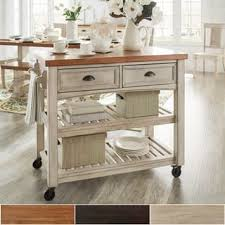 Kitchen Islands For Less Overstock
