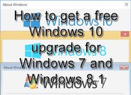 Windows 1 How To Get A Free Windows 10 Upgrade For Windows 7 And